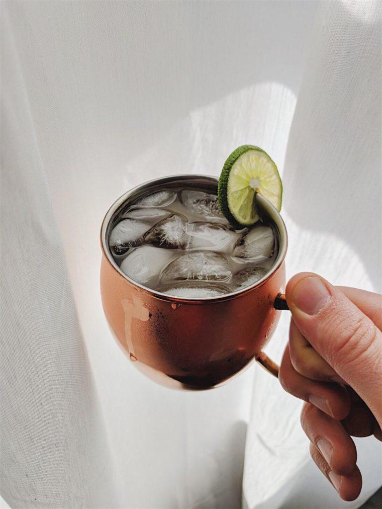 ginger kombucha moscow mules  cheers shot