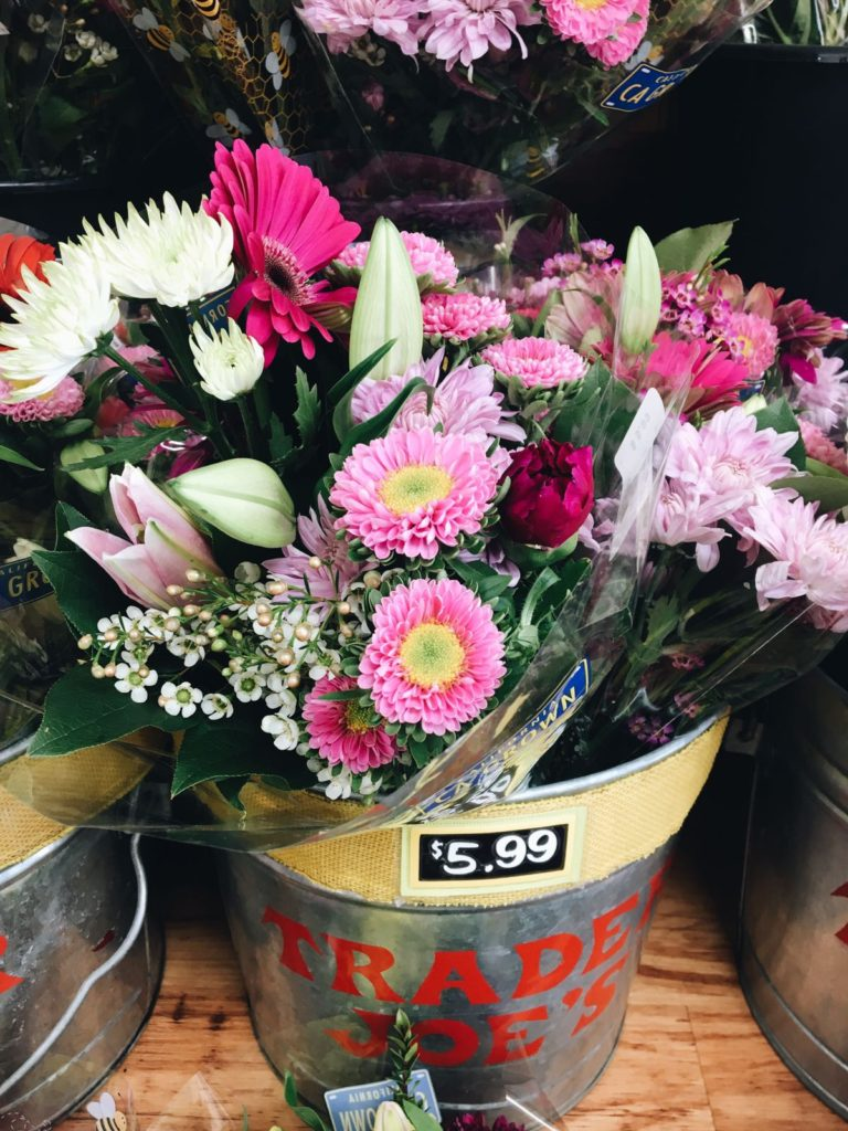 18 favorite trader joe's items flowers in pot