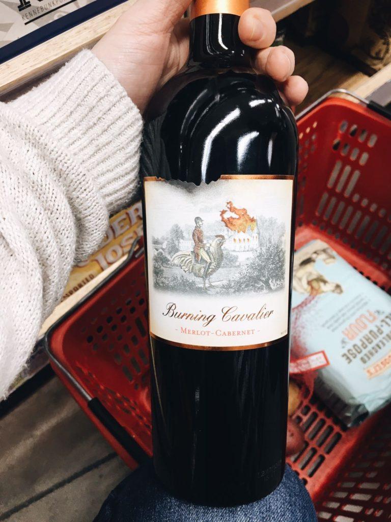 18 favorite trader joe's items burning cavalier red wine merlot cabarnet