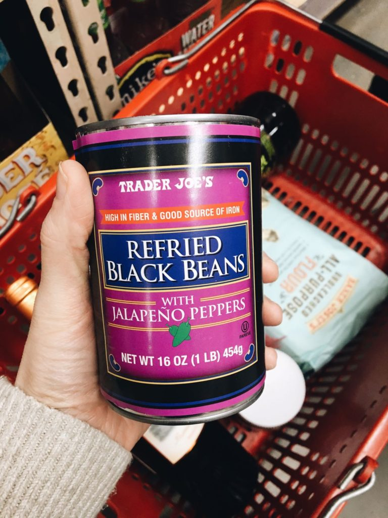 18 favorite trader joe's items refried black beans with jalapeno peppers