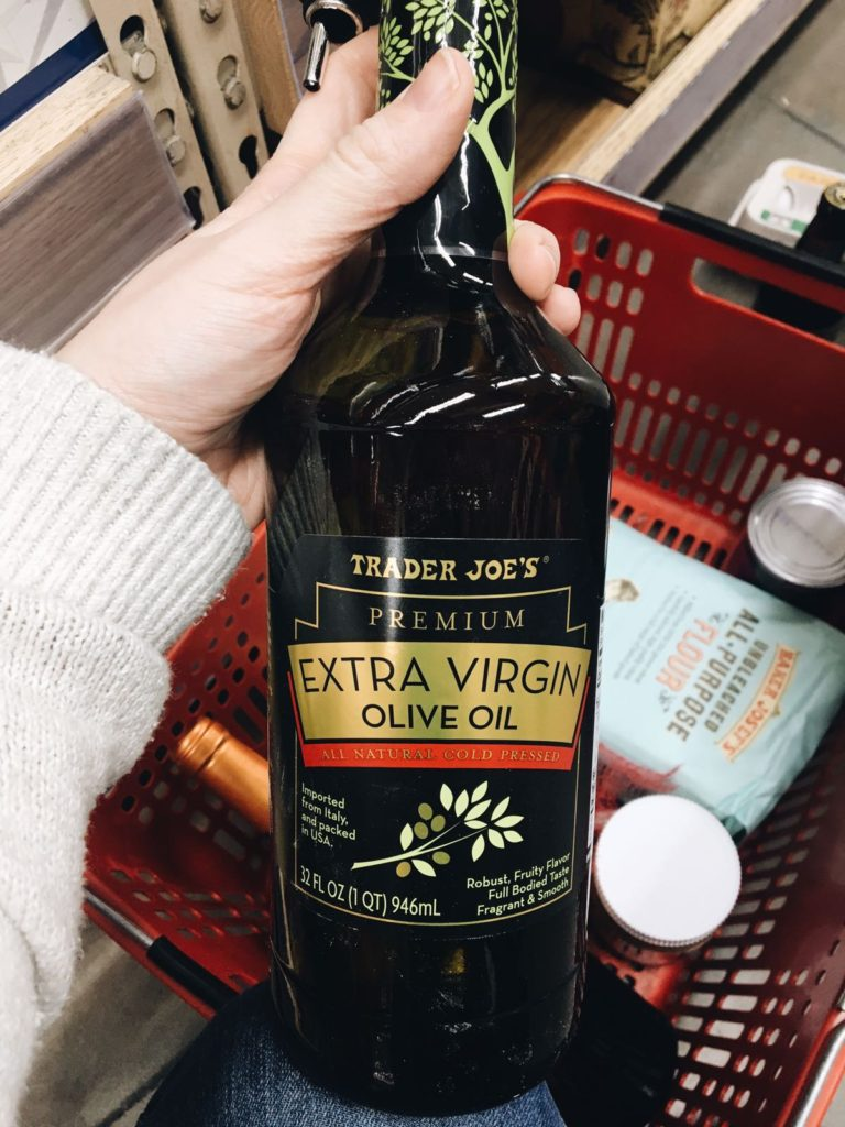 18 favorite trader joe's items premium extra virgin olive oil