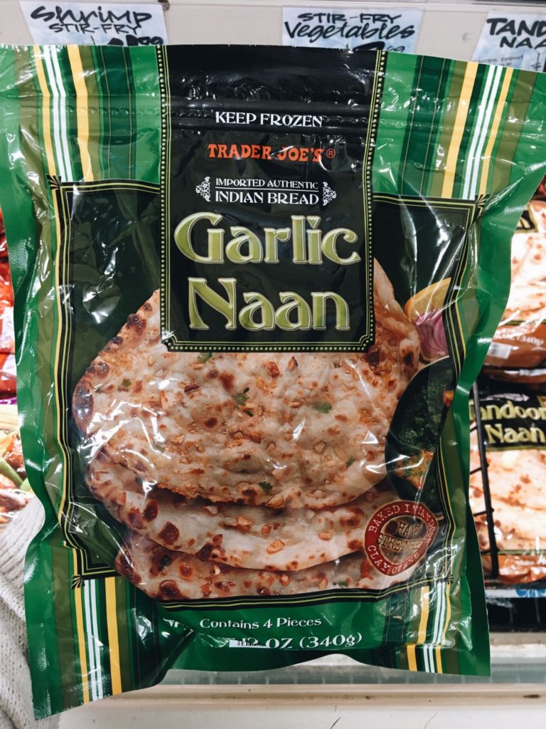 18 favorite trader joe's items garlic naan bread