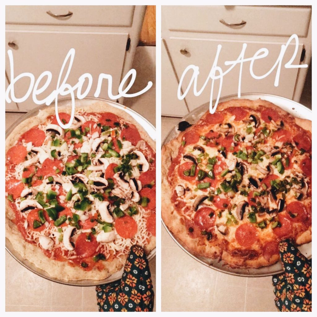 maintaining a lifestyle change pizza photo