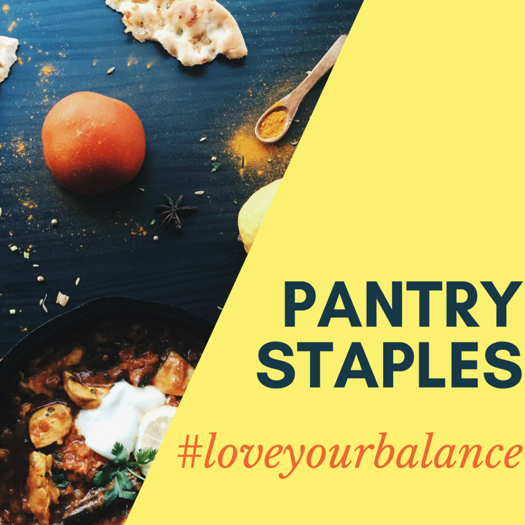 pantry staples graphic