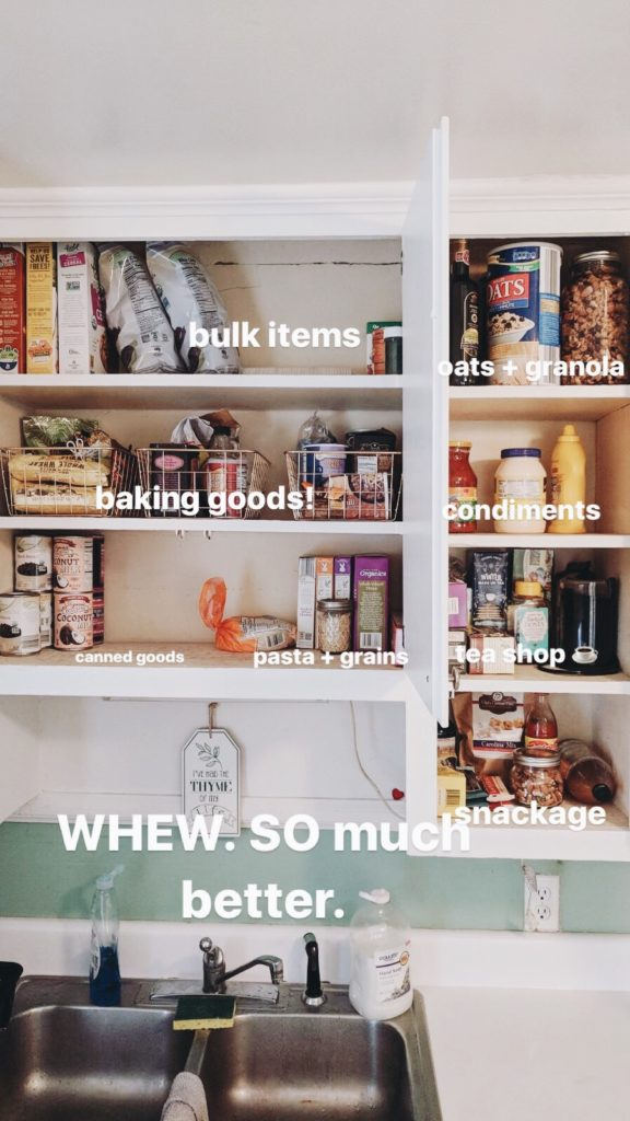 pantry staples after shot