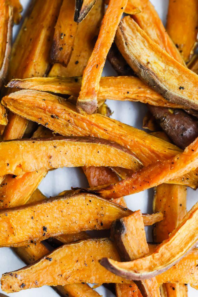 up close sweet potatoes