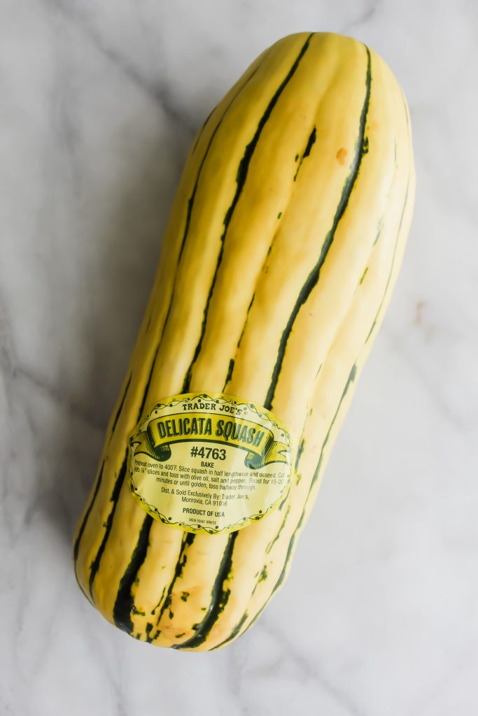 delicata squash from trader joe's