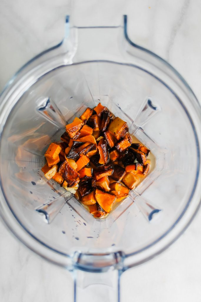 roasted butternut squash in vitamix