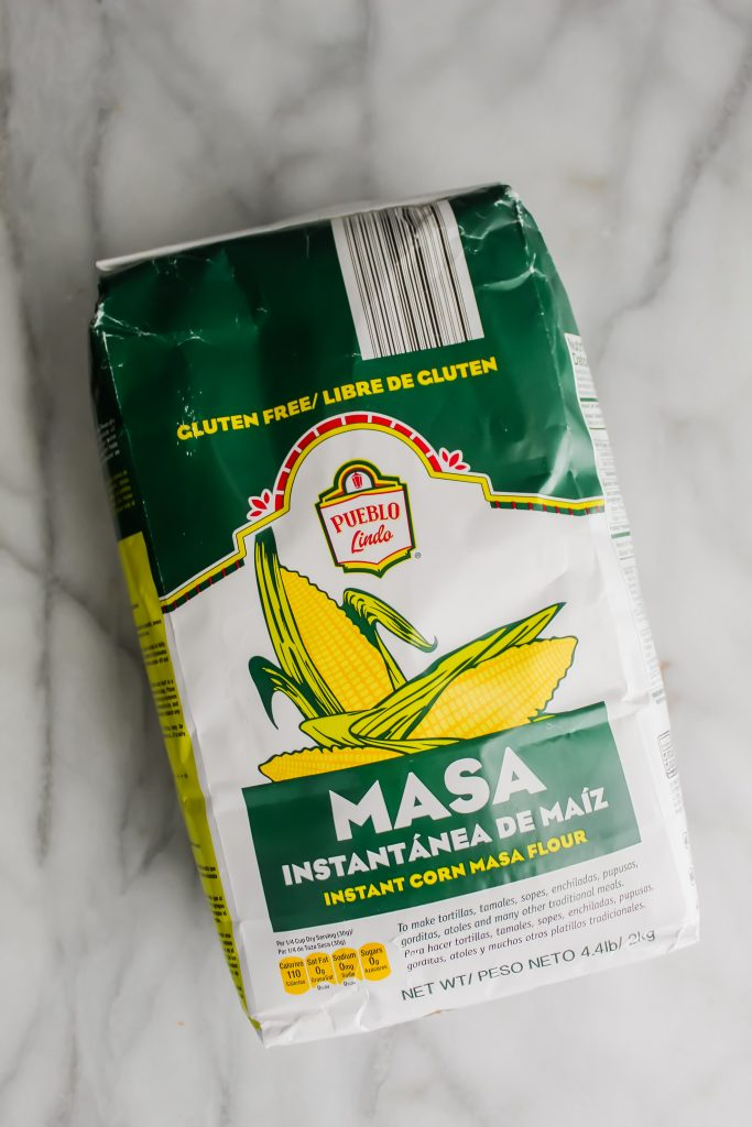 bag of aldi masa flour
