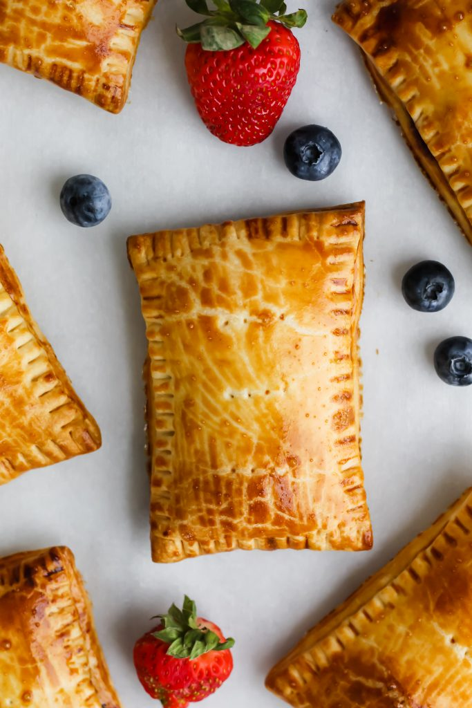 freshly baked Homemade Berry Pop Tarts