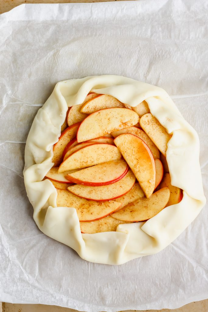 folded wewalka pie crust ready to bake